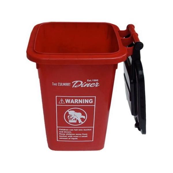 32Lプラスチックダストビン(レッド) ごみ箱 インテリア アメリカ雑貨 アメリカン雑貨|texas4619|02