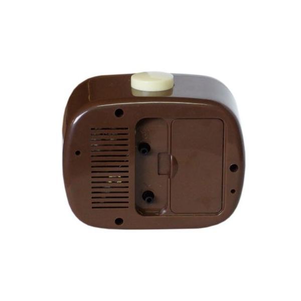 レトロアラームクロック(CHAIN) 目覚まし時計 インテリア アメリカ雑貨 アメリカン雑貨|texas4619|02