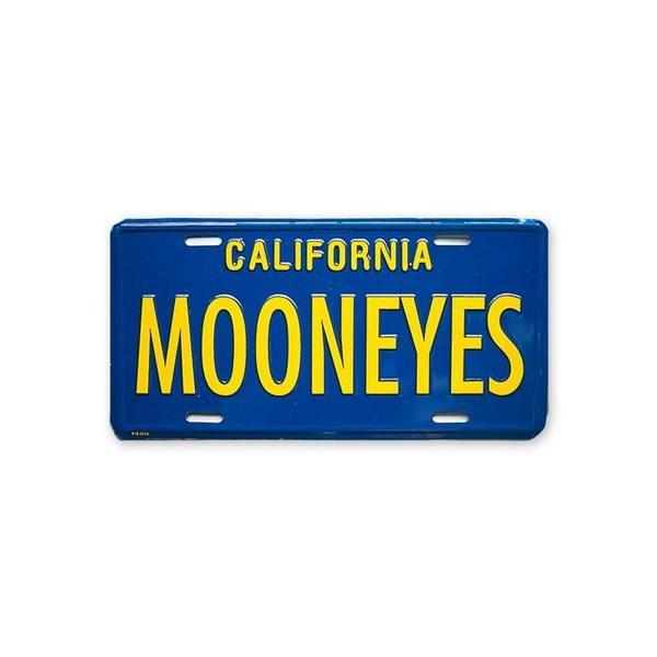MOONEYES カリフォルニアライセンスプレート(ブルー) インテリア ムーンアイズ アメリカ雑貨 アメリカン雑貨|texas4619