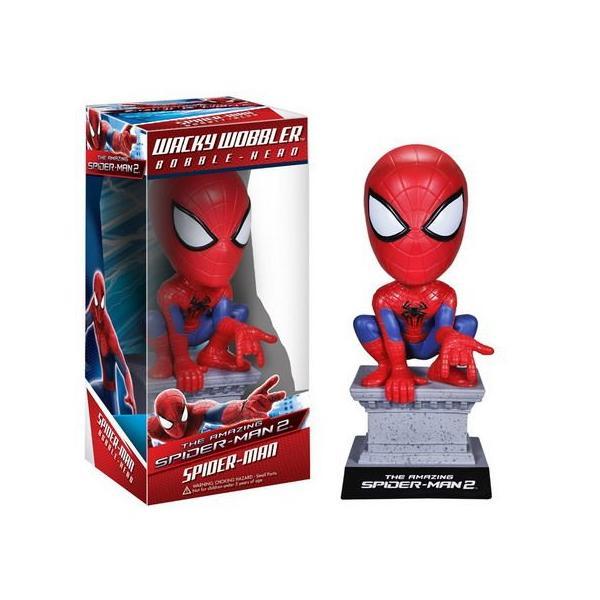 アメイジングスパイダーマン2 ファンコ ボビングヘッド フィギュア アメリカ雑貨 アメリカン雑貨|texas4619