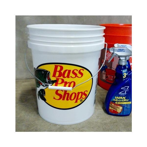 Bass Pro Shops バスプロショップス バケツ 5ガロン バスフィッシング 釣り ガレージ インテリア アメリカ雑貨 アメリカン雑貨|texas4619