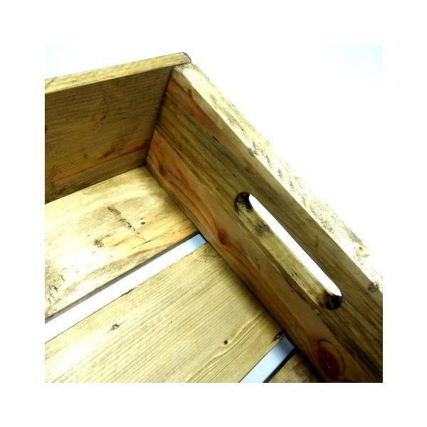 MERCURY リサイクルウッドクレート(レッド) マーキュリー ウッドボックス 木箱 アメリカ雑貨 アメリカン雑貨 texas4619 03