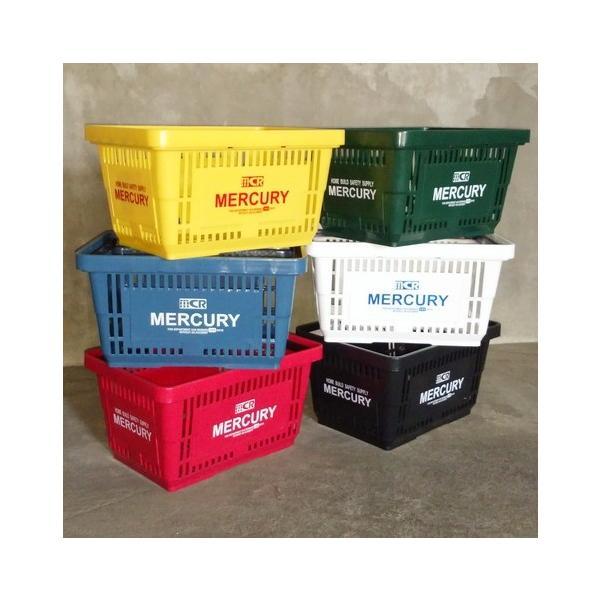 MERCURY マーケットバスケット(レッド) 買い物かご マーキュリー アメリカ雑貨 アメリカン雑貨|texas4619|02
