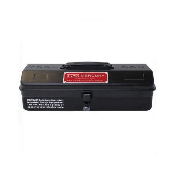 MERCURY ツールボックス(マットブラック) 工具箱 小物入れ 救急箱 マーキュリー アメリカ雑貨 アメリカン雑貨