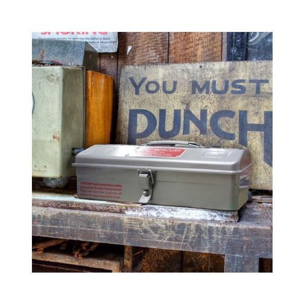 MERCURY ツールボックス(マットブラック) 工具箱 小物入れ 救急箱 マーキュリー アメリカ雑貨 アメリカン雑貨|texas4619|06
