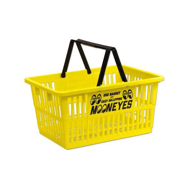 MOONEYES ムーンアイズ マーケットバスケット(イエロー) 買い物かご アメリカ雑貨 アメリカン雑貨|texas4619|02