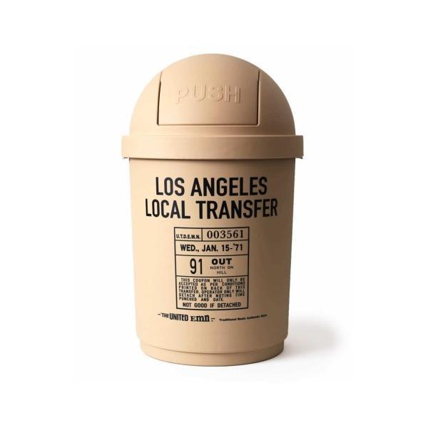 35Lダストボックス(ベージュ) The United EMN ゴミ箱 ダストビン アメリカ雑貨 アメリカン雑貨|texas4619