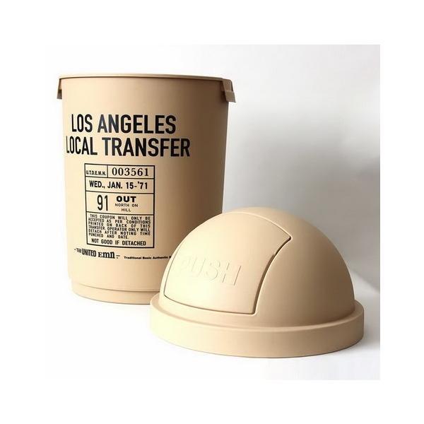 35Lダストボックス(ベージュ) The United EMN ゴミ箱 ダストビン アメリカ雑貨 アメリカン雑貨|texas4619|02