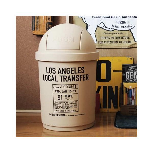 35Lダストボックス(ベージュ) The United EMN ゴミ箱 ダストビン アメリカ雑貨 アメリカン雑貨|texas4619|03