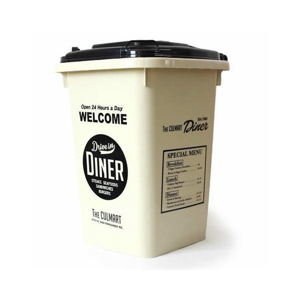 32Lダストボックス(アイボリー) ゴミ箱 インテリア ダストビン アメリカ雑貨 アメリカン雑貨 texas4619 02
