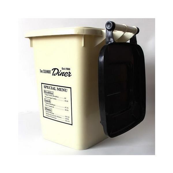 32Lダストボックス(アイボリー) ゴミ箱 インテリア ダストビン アメリカ雑貨 アメリカン雑貨 texas4619 03