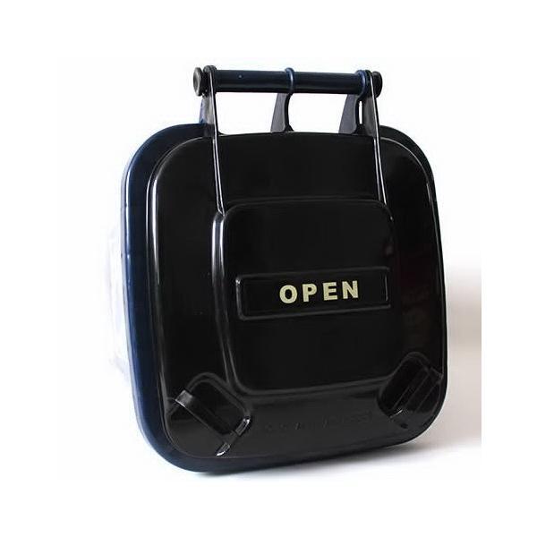 32Lダストボックス(ネイビー) ゴミ箱 インテリア ダストビン アメリカ雑貨 アメリカン雑貨|texas4619|04