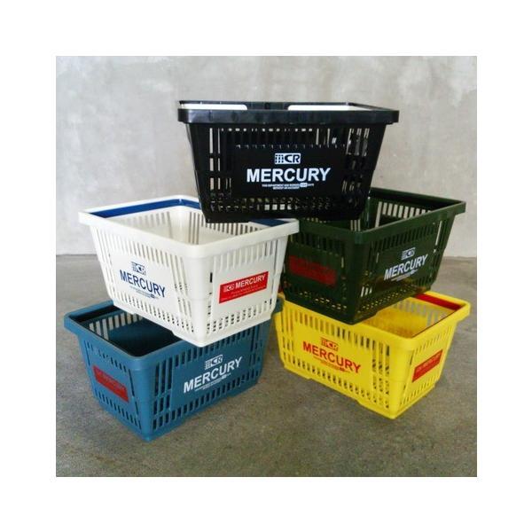 MERCURY マーケットバスケット(ブルー) 買い物かご マーキュリー アメリカ雑貨 アメリカン雑貨|texas4619|03