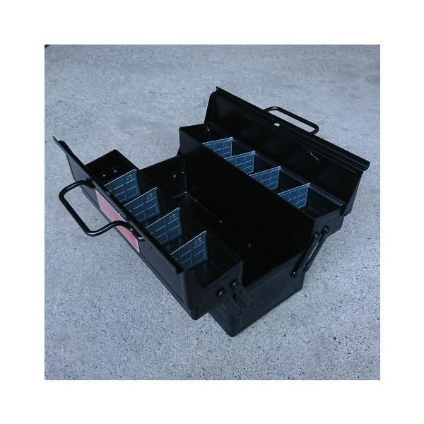 ツールボックスPRO(マットブラック) 工具箱 マーキュリー MERCURY アメリカ雑貨 アメリカン雑貨|texas4619|02