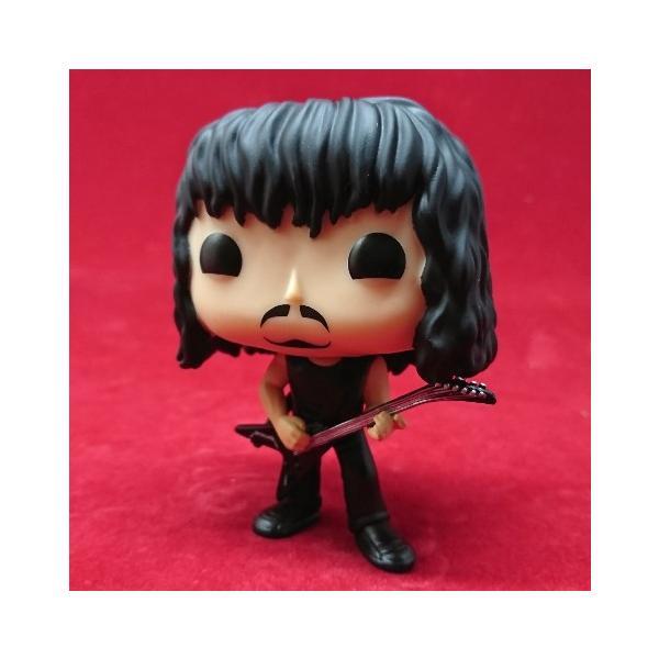 METALLICA メタリカ カーク・ハメット(Kirk Hammett) ファンコ POP!シリーズ フィギュア アメリカ雑貨 アメリカン雑貨 texas4619