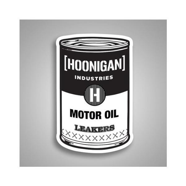 HOONIGAN ステッカー(MOTOR OIL)ケンブロック KEN BLOCK アメリカ雑貨 アメリカン雑貨|texas4619