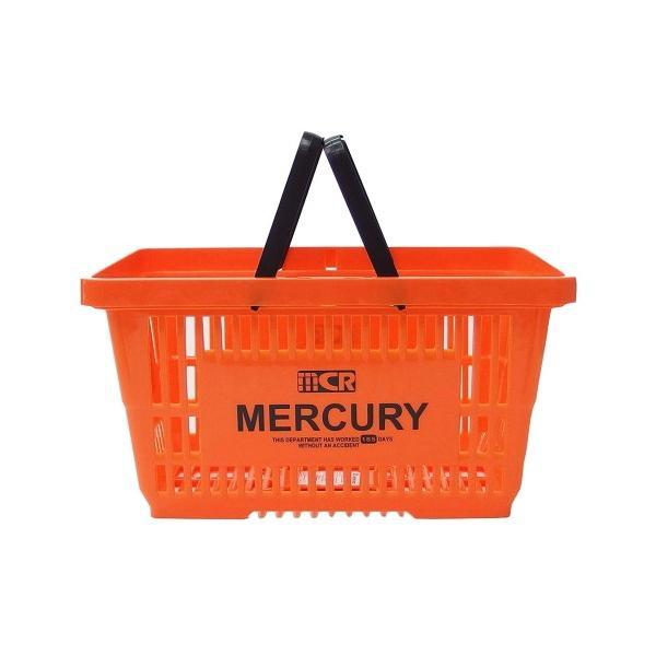 MERCURY マーケットバスケット(オレンジ) 買い物かご マーキュリー アメリカ雑貨 アメリカン雑貨 texas4619