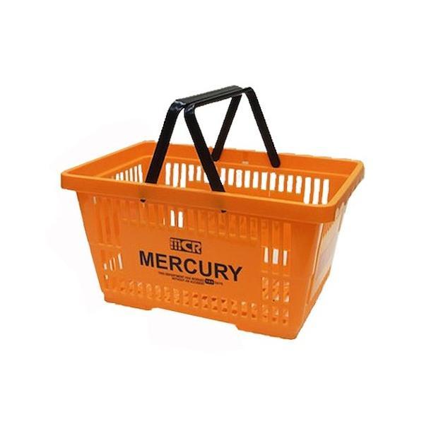 MERCURY マーケットバスケット(オレンジ) 買い物かご マーキュリー アメリカ雑貨 アメリカン雑貨 texas4619 02