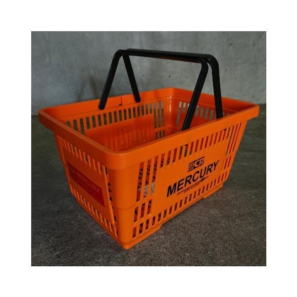 MERCURY マーケットバスケット(オレンジ) 買い物かご マーキュリー アメリカ雑貨 アメリカン雑貨 texas4619 03