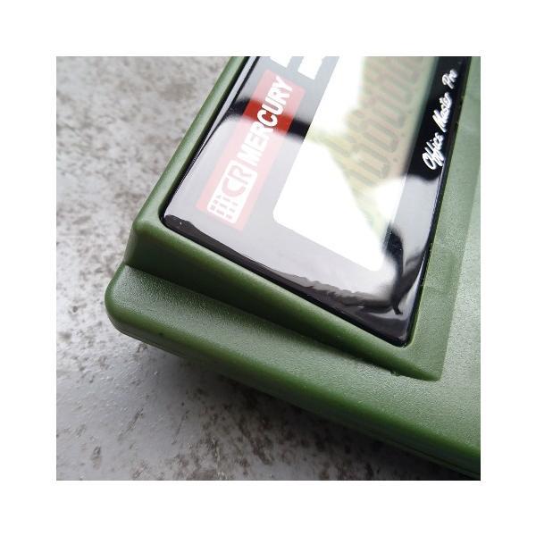MERCURY ソーラー カリキュレーター(カーキ) 電卓 計算機 マーキュリー アメリカ雑貨 アメリカン雑貨|texas4619|02