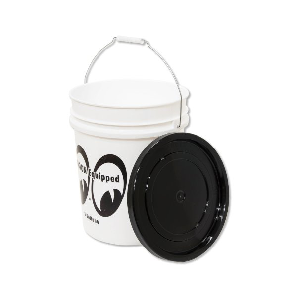 MOON Equipped(ムーン イクイップド) バケツ 蓋付き 5ガロン アメリカ雑貨 アメリカン雑貨