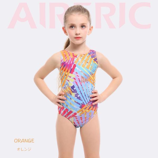 子供用 水着 スクール水着 キッズ ジュニア 女の子 競泳水着 フィットネス 練習用 おしゃれ スイムウェア 9528|tfashion|03