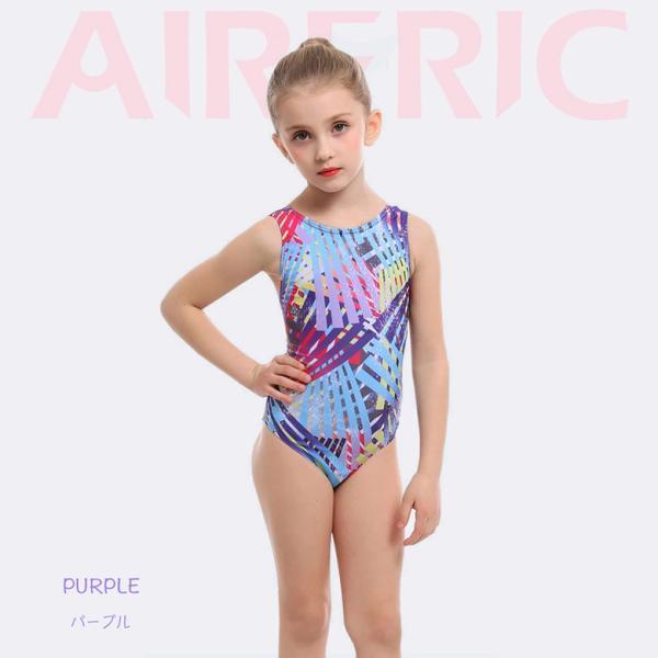 子供用 水着 スクール水着 キッズ ジュニア 女の子 競泳水着 フィットネス 練習用 おしゃれ スイムウェア 9528|tfashion|07