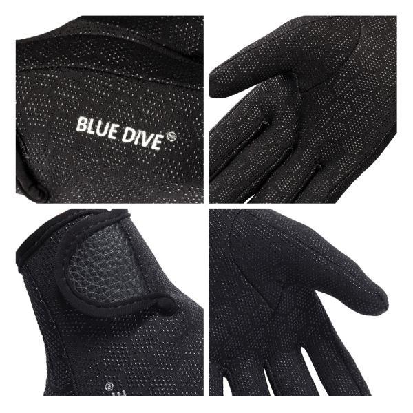 ポイント消化 ダイビンググローブ 1.5mm ダイビング 男女兼用 サーフィンd101|tfashion|04