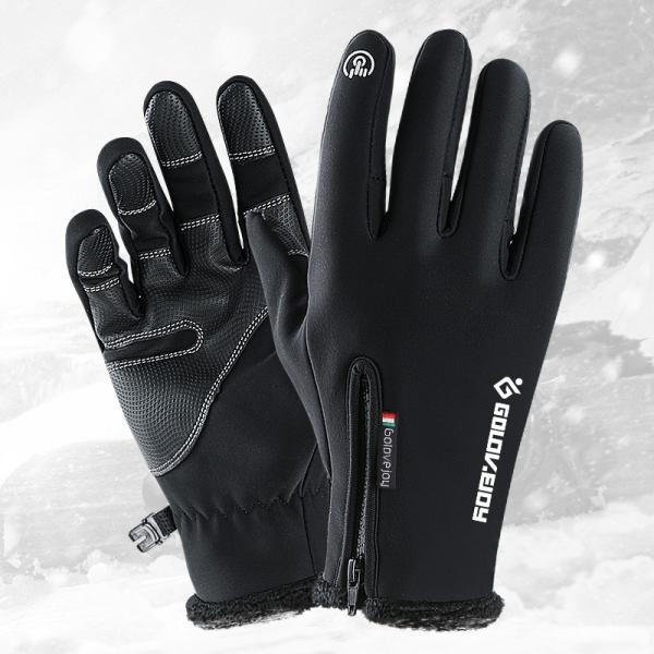 グローブ 自転車 サイクリンググローブ 防水 防寒 スマホ対応 手袋 アウトドア保温 サイクルグローブ アウトドア 登山 タッチパネル DB03 tfashion 02