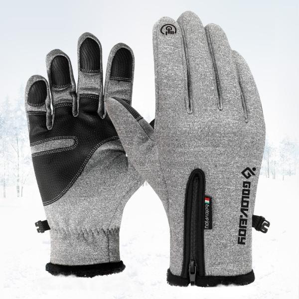 グローブ 自転車 サイクリンググローブ 防水 防寒 スマホ対応 手袋 アウトドア保温 サイクルグローブ アウトドア 登山 タッチパネル DB03 tfashion 03