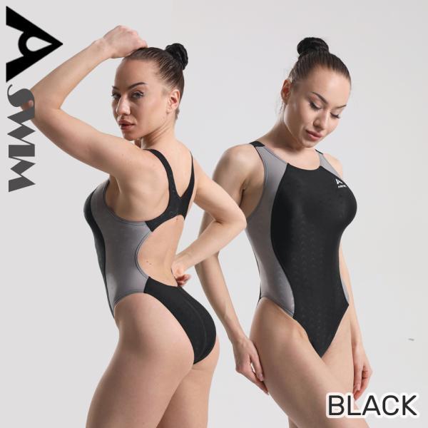 女性競泳水着 レディース競泳水着 フィットネス ワンピース トレーニング用水着 練習用 サイズ豊富 水泳KE2183|tfashion|04