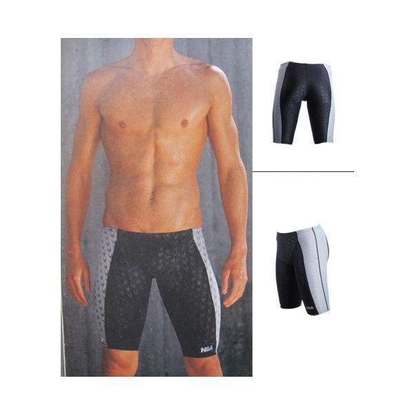 競泳水着 メンズフィットネス スパッツ トレーニング 練習用 スイムウェアKM304|tfashion|02