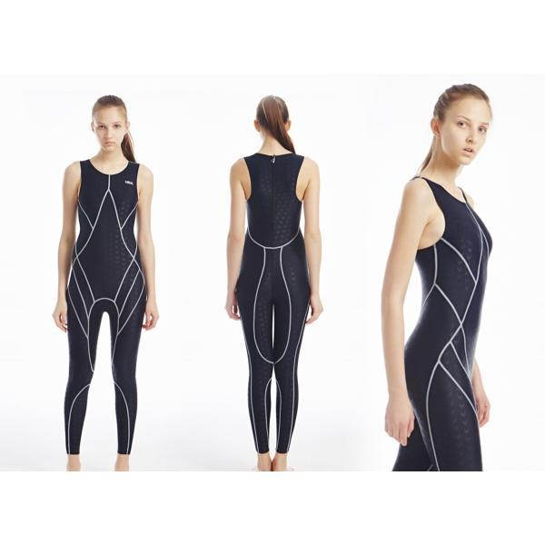 競泳水着 メンズ レディース フィットネス 水着 練習用 フルボディ 男女共通KE523 tfashion 02