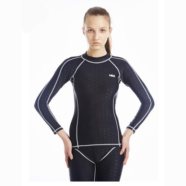 競泳水着 男女兼用 フィットネス ロングスパッツ トレーニング用水着 練習用 水泳KE864|tfashion