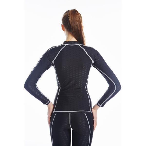 競泳水着 男女兼用 フィットネス ロングスパッツ トレーニング用水着 練習用 水泳KE864|tfashion|03