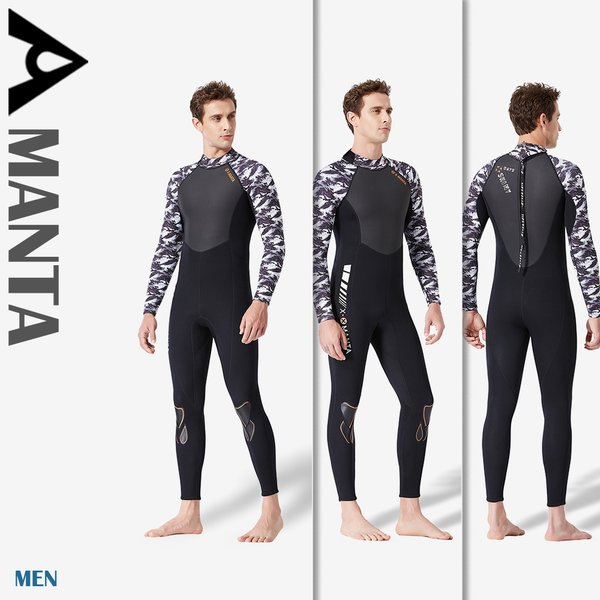 3mm ウェットスーツ メンズ レディース サーフィン フルスーツ バックジップ ネオプレーン ダイビング 交換対応 WS19484|tfashion|05