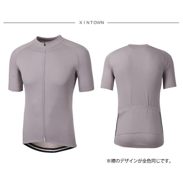 サイクルジャージ メンズ 夏用 サイクリング 半袖 シャツXT302|tfashion|13