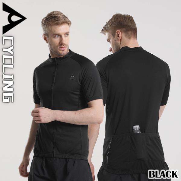 サイクルジャージ メンズ 夏用 サイクリング 半袖 シャツXT302|tfashion|03