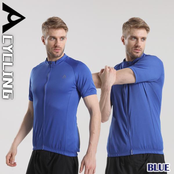 サイクルジャージ メンズ 夏用 サイクリング 半袖 シャツXT302|tfashion|04