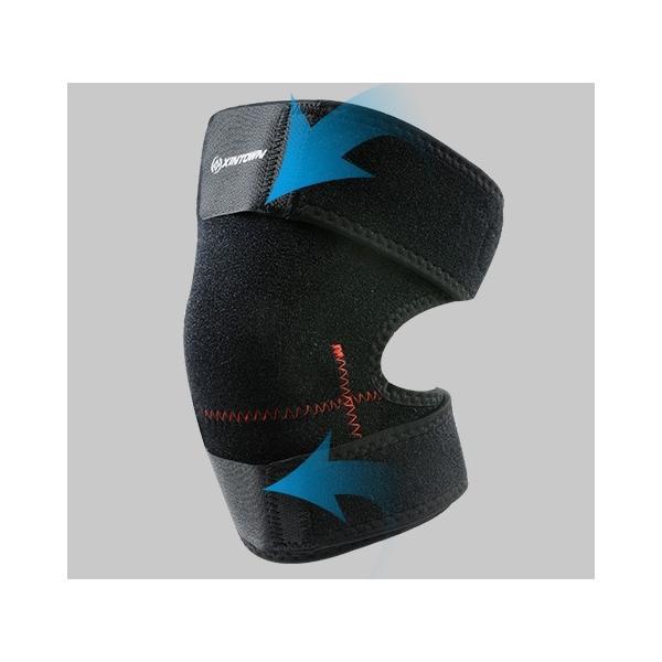 膝用サポーター ハードサポート 1個 左右兼用 サイクル xts2003|tfashion|03