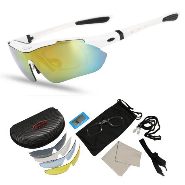 スポーツサングラス 偏光 メンズ レディース ケース付き 超軽量 UVカット ゴルフ サイクリング 自転車用 野球 釣り XTSG18SS|tfashion|02