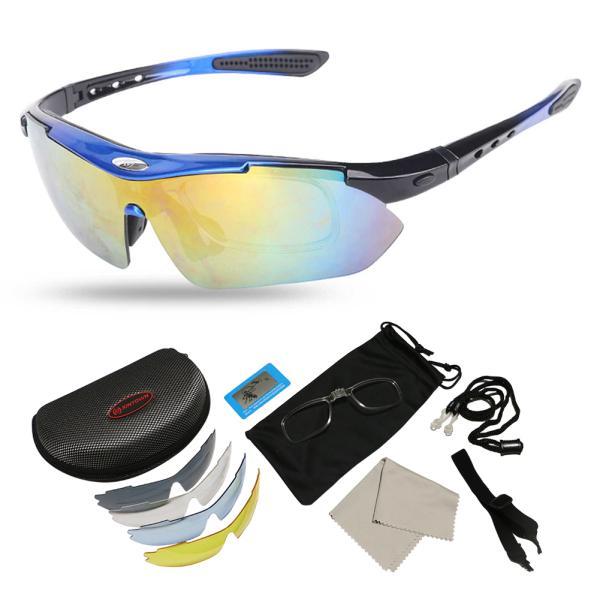 スポーツサングラス 偏光 メンズ レディース ケース付き 超軽量 UVカット ゴルフ サイクリング 自転車用 野球 釣り XTSG18SS|tfashion|03