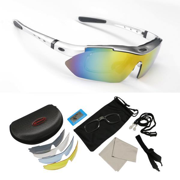 スポーツサングラス 偏光 メンズ レディース ケース付き 超軽量 UVカット ゴルフ サイクリング 自転車用 野球 釣り XTSG18SS|tfashion|06