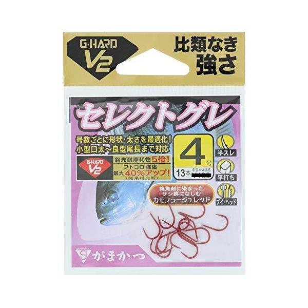 がまかつ(Gamakatsu)バラG-HARDV2セレクトグレ68733#4