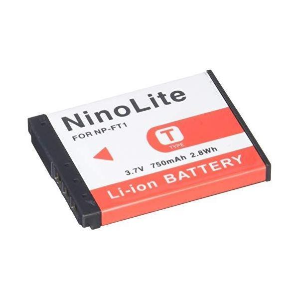 NinoLite NP-FT1 互換 バッテリー 2個セット ソニー DSC-T1 DSC-L1 DSC-M1 DSC-M2 DSC-T10