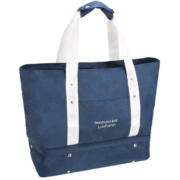 Luuhann(ルーハン)『防水多機能マザーズバッグ 靴収納可な軽量スポーツバッグ 旅行バッグ』