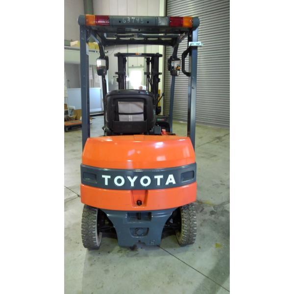 トヨタバッテリーカウンターフォークリフト1.5トン サイドシフト 2014年製|thats-e|06