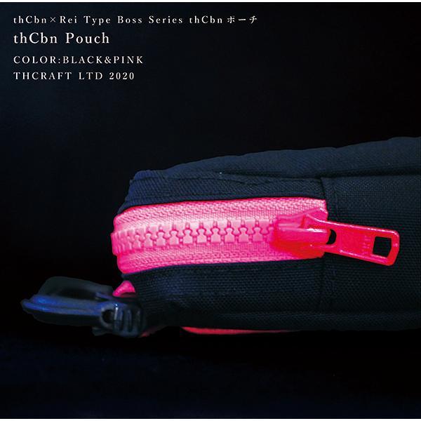 【thCbn】thCbn ポーチ レザー製ワッペン付き / マルチケース ウェストポーチ|thcraft-official|03