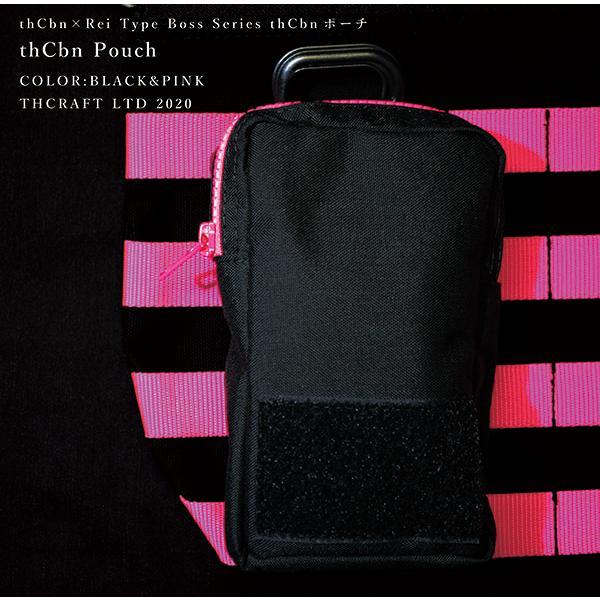 【thCbn】thCbn ポーチ レザー製ワッペン付き / マルチケース ウェストポーチ|thcraft-official|04