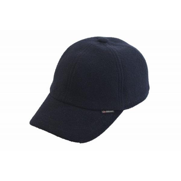 9d3e6bbeb7be27 Gottmann キャップ 6531019 ネイビー 紺 帽子 メンズ 紳士 アウトドア ゴルフ イヤーフラップ 耳あて 防寒対策